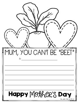 Mother's Day Writing Prompts and Puns! (Mum and Mom!)