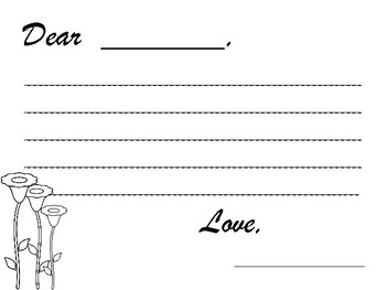 Mother's Day: Writing Template NO PREP