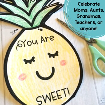 Mother's Day Writing Template and Cards