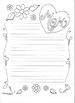 Mother's Day Writing and Coloring Pages