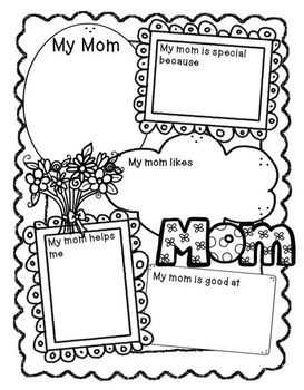 Mother's Day Writing and Craft