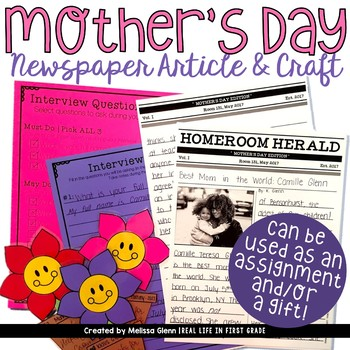 Mother's Day Writing and Craft Activities