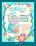 FREE Mother's Day Writing and Drawing Prompts