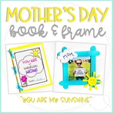 """Mother's Day """"You Are My Sunshine"""" Book and Picture Frame Craft"""