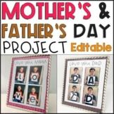 Mother's Day and Father's Day Project (Distance Learning)