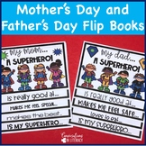 Mother's Day and Father's Day Activities Flip Books