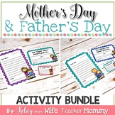 Mother's Day and Father's Day Activities Bundle- Letters, Coupons, Awards