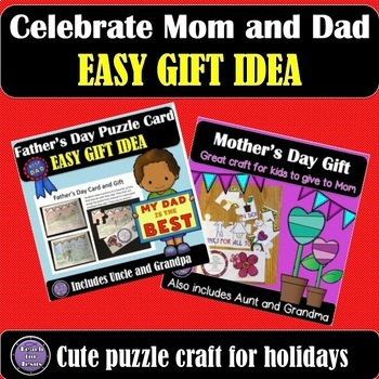 Mother's Day and Father's Day Cards Bundle