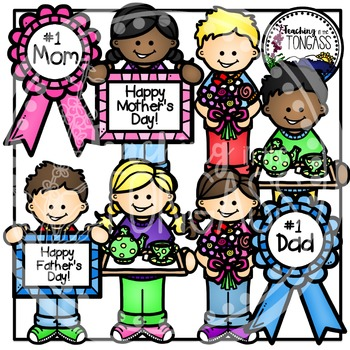 Mother's Day Clipart and Father's Day Clipart
