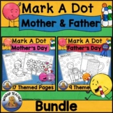 Mother's Day and Father's Day Dot Dauber Set BUNDLE