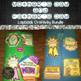 Mother's Day and Father's Day Bundle:  Lapbook and Craftivities