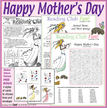 Mother's Day and Mother Nature Puzzle Set