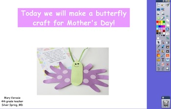 Mother's Day craft Flipchart