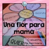 Mother's Day craft Spanish Dia de la Madre