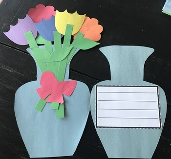 Mother's Day or Spring Card Craftivity