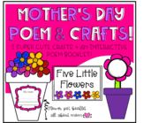 Mother's Day poem and crafts