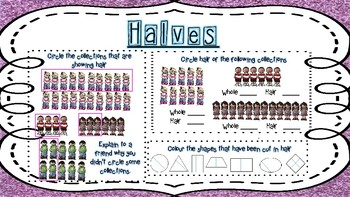 Halves activity - group rotations
