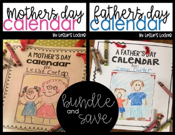 Mother's & Father's Day Calendar Bundle
