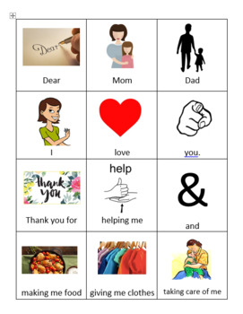 Mother's/Father's Day Cards! Adapted!