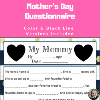 Mother's & Father's Day Questionnaires