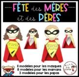 Mother's and Father's Day Card / Fête des pères et des mères-Carte de superhéros