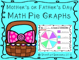 Mother's and Father's Day Math Pie Graphs