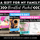 Mother's and Father's Day Writing Assignment Bundle