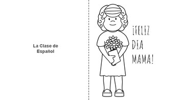 Mother's day greeting cards in Spanish