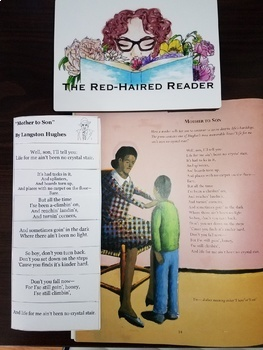 Mother to Son Langston Hughes Foldable Poetry Analysis tool Harlem Renaissance