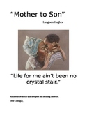 """Mother to Son"" by Langston Hughes Interactive Metaphor with Inference"