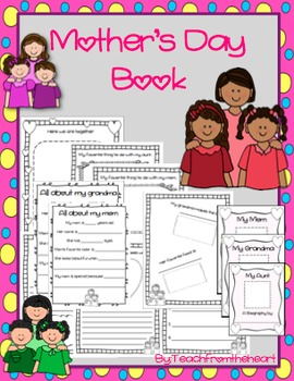 Mother's Day Book (Mom, Grandma, Aunt)