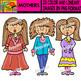 Mothers - Clipart Set - 23 Items