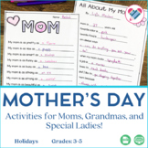 Mother's Day Activities and Printables