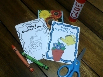 Mother's Day Craft Seed Packet and Bookmarks, May Activities