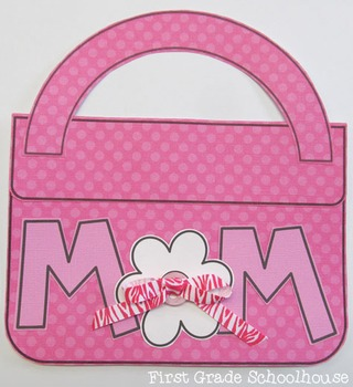 Mother's Day Purse Craft and Booklet
