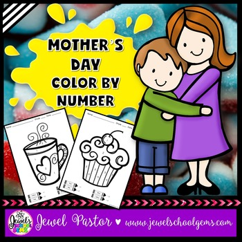 Mother's Day Activities (Mother's Day Coloring Pages or Color By Number)