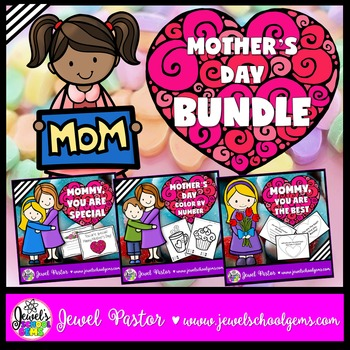 Mother's Day Activities BUNDLE (Coloring and Crafts)