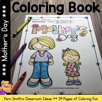 Coloring Pages for Mother's Day