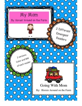 Mother's Day (2 Emergent Readers)