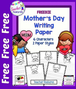 Mothers Day Free Writing Paper