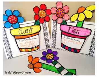 Mother's Day 3-D Flower Craft