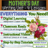 Mother's Day Writing BUNDLE! - Argumentative, Persuasive,