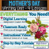 Mother's Day Writing Bundle! - Argumentative, Persuasive, Expository, Narrative