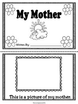 Mother's Day - A Printable Book