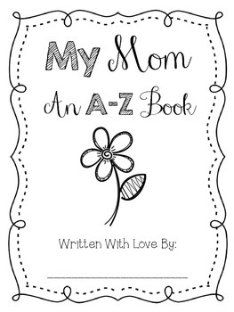 Mother's Day A-Z Book