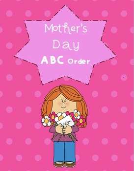 Mother's Day ABC Order - Differentiated