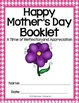 Mother's Day Booklet {Poems, Similes, Favorite Things, Cou