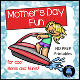 Mother's Day Activities: Mother's Day Math, Language, Cards and Certificates