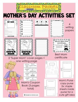 Mother's Day Activities Packet