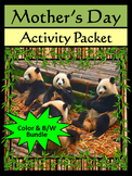 Mother's Day Activities: Mother's Day Spring Activity Pack
